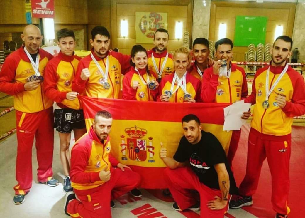 Selección española UND/ISKA 2017