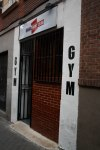 gym usera fight club fachada amor hermoso Madrid
