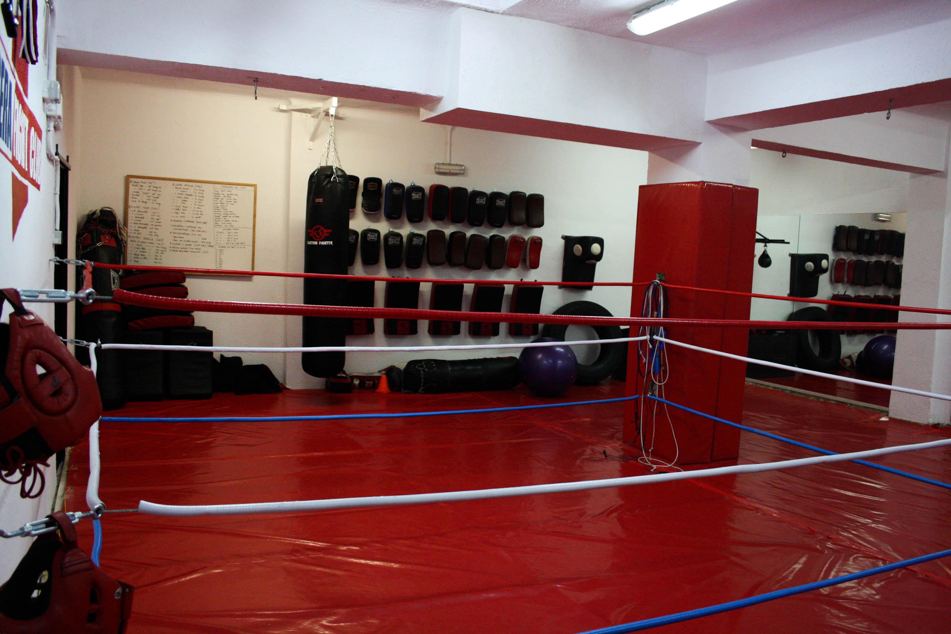 Paos Usera fight club tatami rin entrenamiento físico