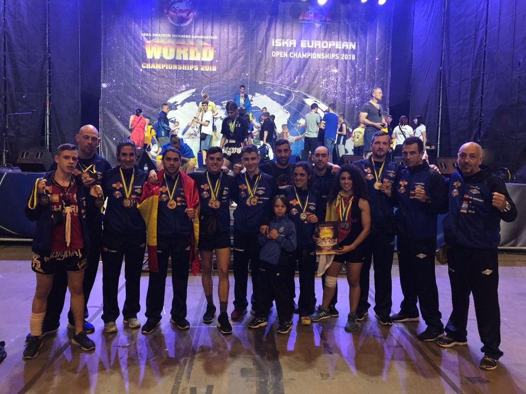 Selección española, iska, Und, kickboxing, k1, muay Thai, Kiev, Ukraine,